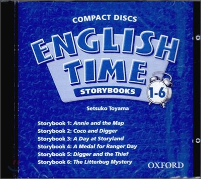 English Time 1~6 : Story Book Audio CD