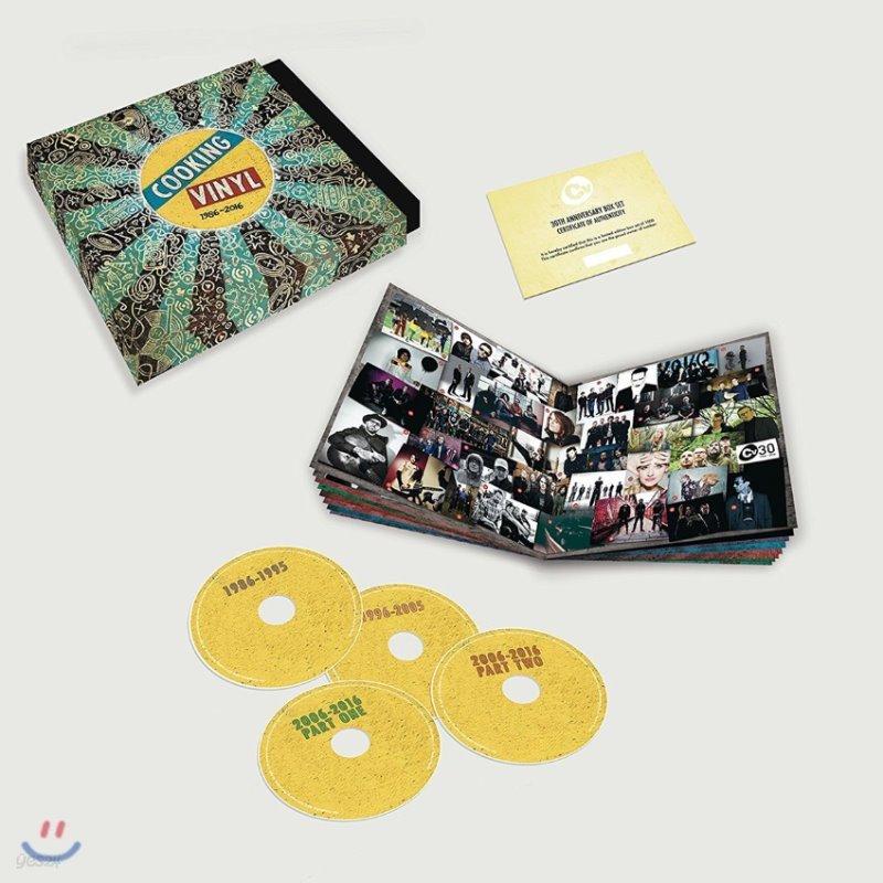 Cooking Vinyl 30th Anniversary 1986 - 2016