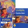 Journeys Grade 4 Set : Student Edition + Practice Book + Audiotext CD