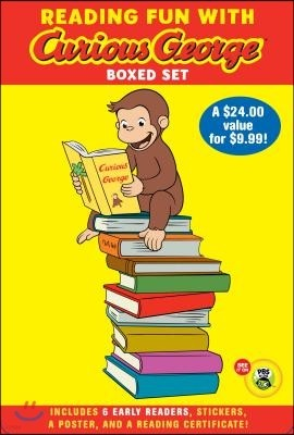 Green Light Readers : Reading Fun With Curious George Boxed Set