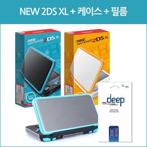 [뉴2DS XL 본체]닌텐도 뉴 2DS XL 본체(한글판)+케이스+필름