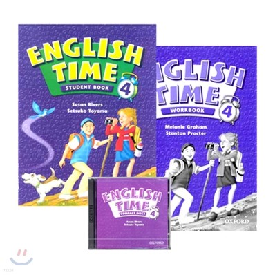 English Time 4 Pack : Student Book + Workbook + Audio CD