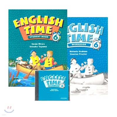 English Time 6 Pack : Student Book + Workbook + Audio CD