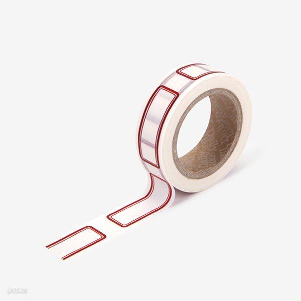 Masking tape single - 107 Name tag