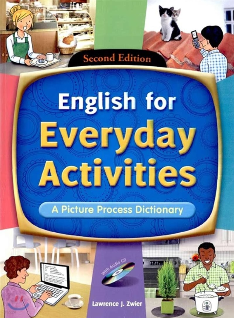 English for Everyday Activities : A Picture Process Dictionary