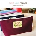 [E2] Sweet label pen case
