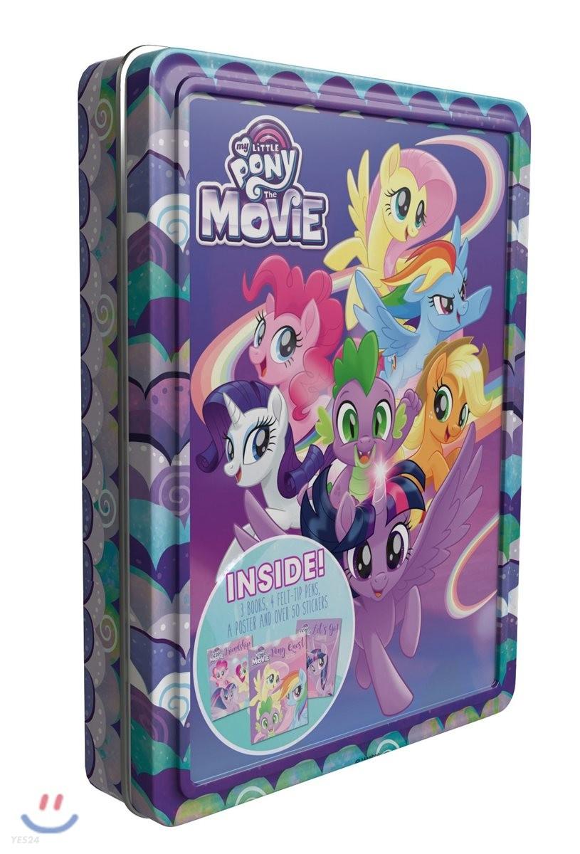 [틴케이스] 마이 리틀 포니 더 무비 해피틴 My Little Pony The Movie (Happy Tin)