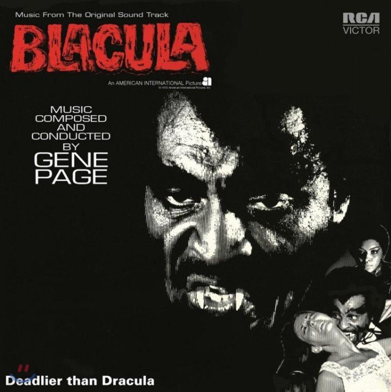 브라큘라 영화음악 (Blacula OST by Gene Page) [LP]