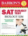 Barron's SAT Subject Test : Biology E/M