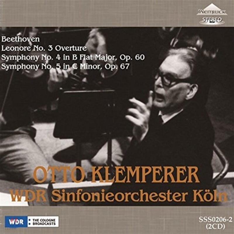Otto Klemperer 베토벤: 교향곡 4, 5번, 레오노레 서곡 3번 - 오토 클렘페러 (Beethoven: Leonore Overture, Symphonies Op.60 & Op.67)