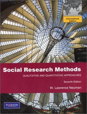 Social Research Methods: Qualitative and Quantitative Approaches, 7/E (IE)