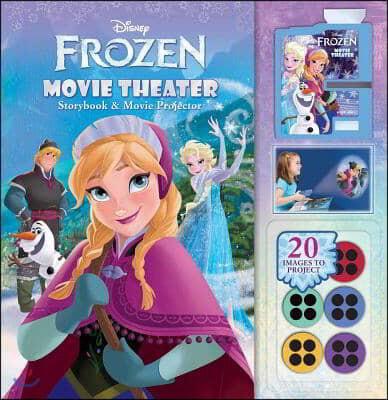 Disney Frozen Movie Theater Storybook & Movie Projector