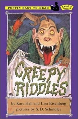 Puffin Easy-To-Read Level 3 : Creepy Riddles