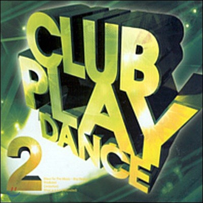 [중고] V.A. / Club Play Dance Vol.2 (2CD)
