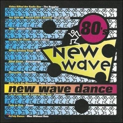 [중고] V.A. / 80's New Wave : New Wave Dance (수입)