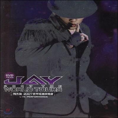 [중고] Jay Chou (주걸륜) / 2007 The World Tours (2CD+1DVD)