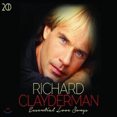 [중고] Richard Clayderman / Essential Love Songs (수입/2CD/Digipack)