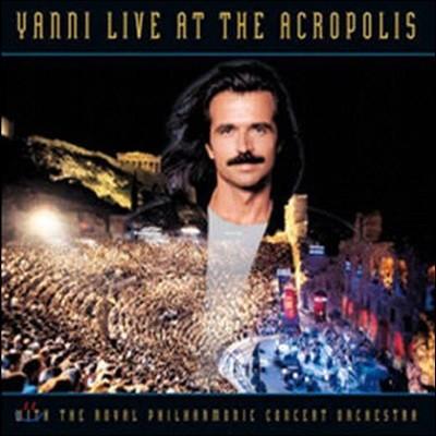 [중고] Yanni / Live At The Acropolis (CD+DVD 3단 Digipack)