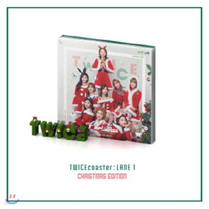 [중고] 트와이스 (Twice) / TWICEcoaster : LANE 1 'Christmas Edition'