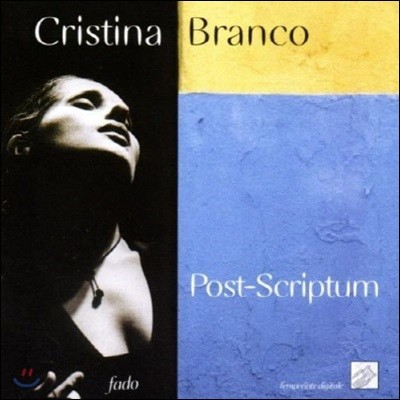 [중고] Cristina Branco / Post-Scriptum (Digipack/수입)