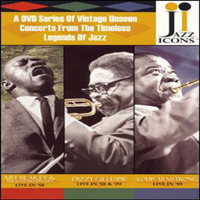 Various Artists - Jazz Icons (DVD)