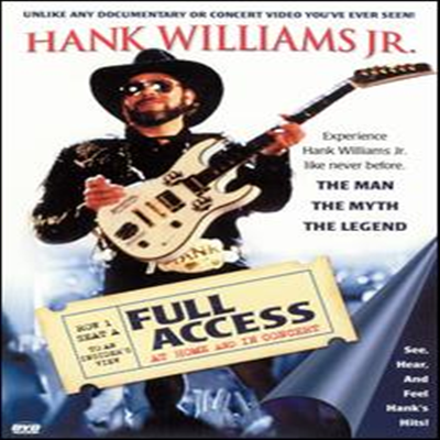 Hank Williams, Jr - Full Access - At Home and In Concert (DVD)