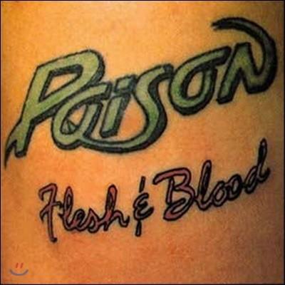 [중고] [LP] Poison / Flesh And Blood