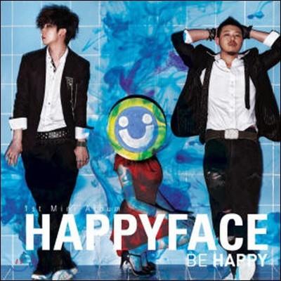 [중고] 해피 페이스 (Happy Face) / Be Happy (Mini Album)