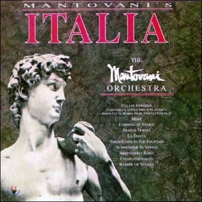 [중고] Mantovani Orchestra / Mantovani's Italia (수입)