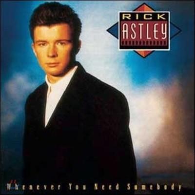 [중고] [LP] Rick Astley / Whenever You Need Somebody