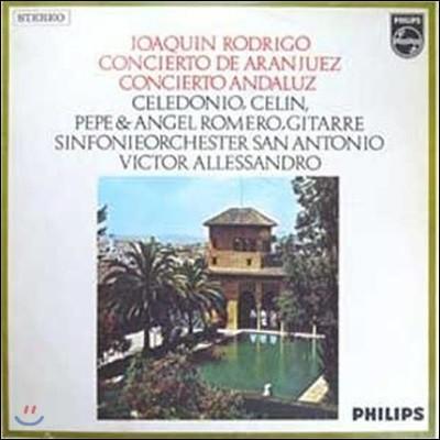 [중고] [LP] Angel Romero, Los Romeros / Rodrigo : Concierto De Aranjuez, Concierto Andaluz (sel100161)