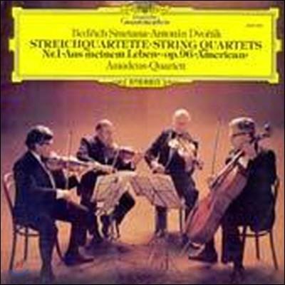 [중고] [LP] Amadeus Quartet / Smetana, Dvorak : String Quartets (selrg748)