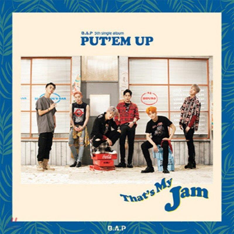 비에이피 (B.A.P) / Put'Em Up (5th Single Album/미개봉)