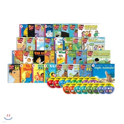 영어 과학 동화 세트 (Full Color) 32권 + 오디오 CD 16장