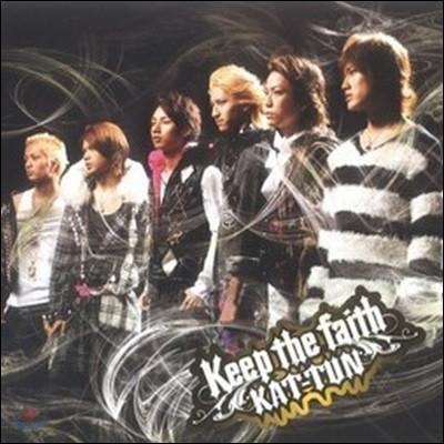 [중고] Kat-Tun / Keep The Faith (일본반/Single/jaca5044)