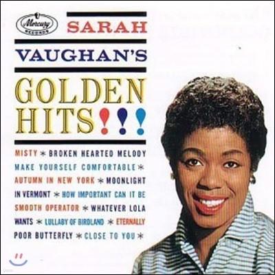 [중고] Sarah Vaughan / Golden Hits (수입)