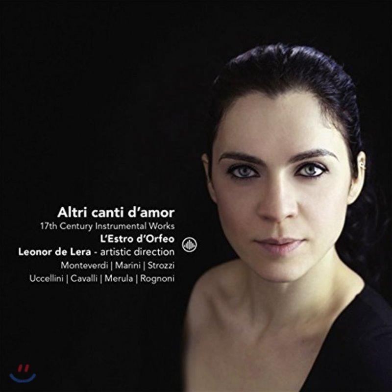 Leonor de Lera 17세기 기악 작품들 (Altri Canti d'Amor - 17th Century Instrumental Works) 레스트로 도르페오, 레오노르 데 레라