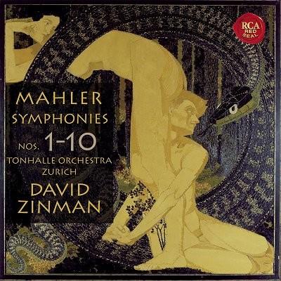 David Zinman 말러 : 교향곡 전집 (Mahler : Complete Symphony) 데이빗 진만