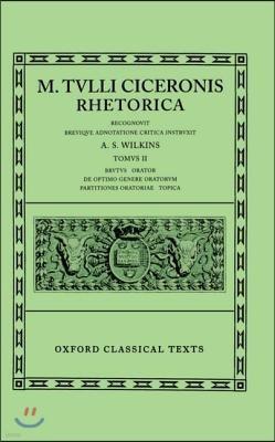 Cicero Rhetorica. Vol. II