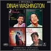"Dinah Washington - 4 Originals (The Swingin' Miss ""D"", The Best In Blues, Music For Late Hours, In The Lady Of Hi-Fi)"