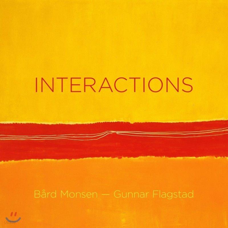 Bard Monsen / Gunnar Flagstad 인터랙션 - 스트라빈스키: 듀오 콘체르탄트 / 루토스와프스키: 파르티타 (Interactions - Valen: Sonata / Stravinsky: Duo Concertant / Lutoslawski: Partita)