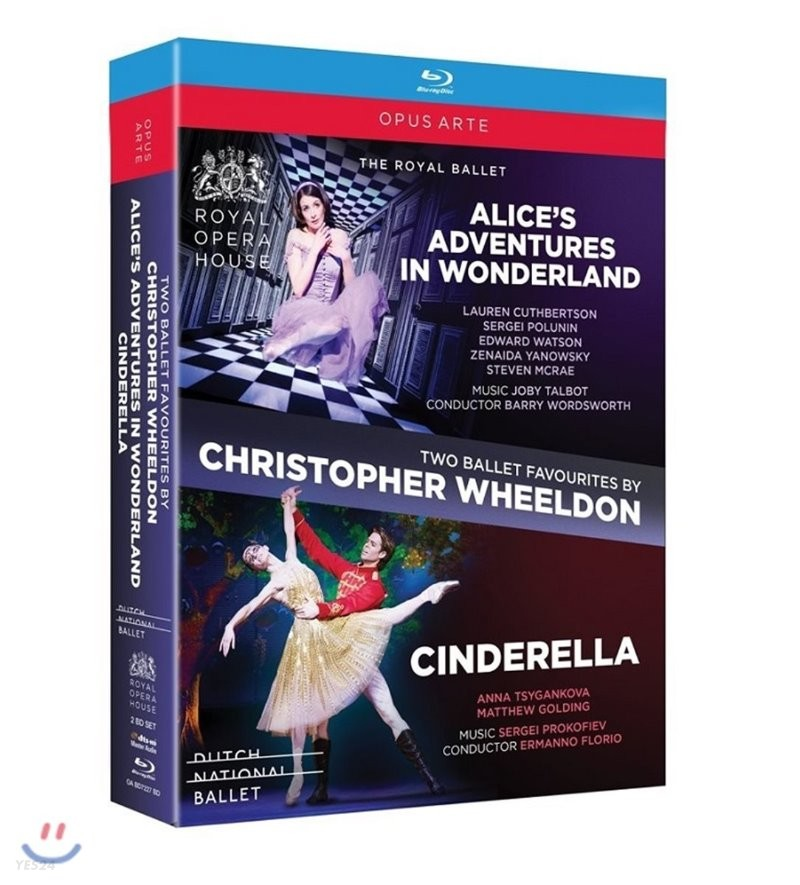 The Royal Ballet 크리스토퍼 윌든: 발레 - 이상한 나라의 앨리스 , 신데렐라 (Christopher Wheeldon Ballets - Alice's Adventures in Wonderland & Cinderella)