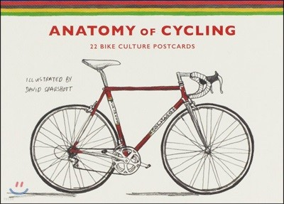 The Anatomy of Cycling: 22 Bike Culture Postcards