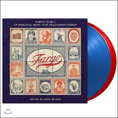 파고 시즌 3 드라마 음악 (Fargo Year 3 - MGM/FXP Television Series OST by Jeff Russo 제프 루소) [레드&블루 컬러 2LP]