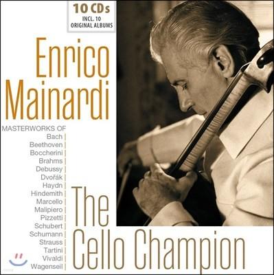 Enrico Mainardi 엔리코 마이나르디 명연집 - 10 오리지널 앨범 컬렉션 (The Cello Champion)