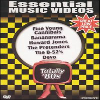 Fine Young Cannibals/Bananarama/Howard Jones/Pretenders/Devo - Essential Music Videos: Totally '80s (DVD)(2004)