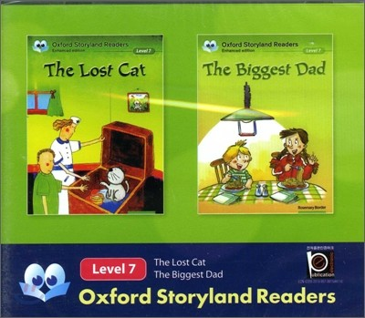 Oxford Storyland Readers Level 7 The Lost Cat / The Biggest Dad : CD