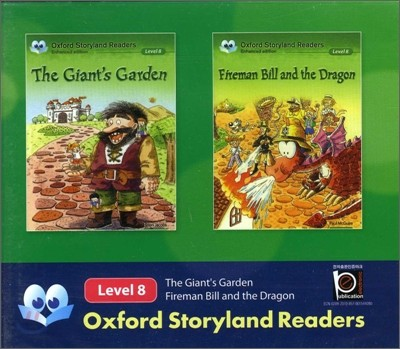 Oxford Storyland Readers Level 8 The Giant's Garden / Fireman Bill & the Dragon : CD