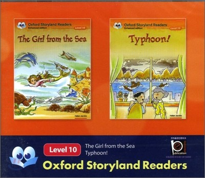 Oxford Storyland Readers Level 10 The Girl from the Sea / Typhoon! : CD