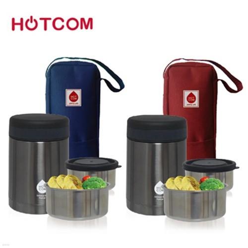 핫콤 스텐 진공 단열 보온도시락 :: 수능도시락 HCL-900